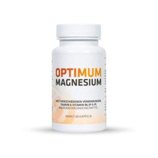 OPTIMUM MAGNESIUM - DIE ANTWORT AUF STRESS - NAHRUNGSERGÄNZUNGSMITTEL MIT MAGNESIUM