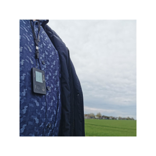 smartLAB walk B 3D-Pedometer with large display and Bluetooth 4.0 (BLE) wireless data transfer