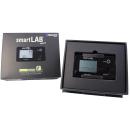 smartLAB walk B 3D Schrittzähler mit Anzeige und Bluetooth in Schwarz